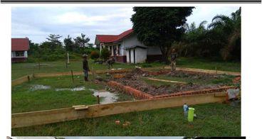 Bantu Masjid Suku Anak Dalam Desa Nyogan