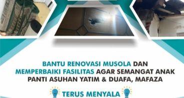 Bantu Renovasi Musola Panti Yatim & Duafa