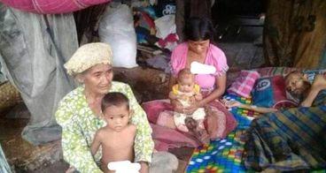 Bantu Ibu Maryati beserta keluarga