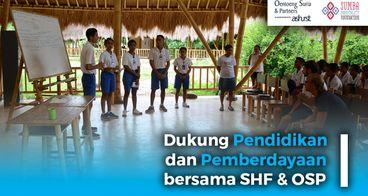 OSP Dukung SHF Bangun Pendidikan di Sumba
