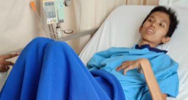 Bantu Caelvin Melawan Komplikasi Penyakitnya