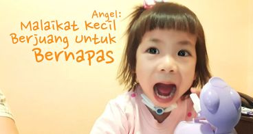 Bantu Angel Bebas dari Alat Bantu Nafas