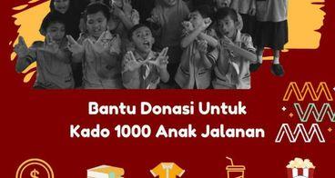 Donasi HUT Kakak Asuh - 1000 Kado utk anak jalanan