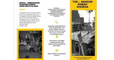 Pembangunan Pesantren Pondok Dzikir Hidayatul Iman