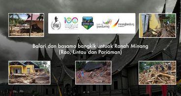 Bantu Korban Longsor & Banjir Bandang di SUMBAR