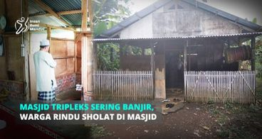 BANTU RENOVASI MASJID TRIPLEKS YANG SERING BANJIR