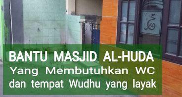 Urgent Masjid AL-HUDA Butuh WC dan Tempat Wudhu