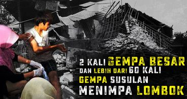 Darurat! Bantu Korban Gempa Lombok