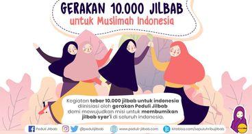 Gerakan 10.000 Jilbab untuk Muslimah Indonesia