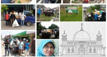 Ingin Bangun Masjid Himpun Rongsok Rumah ke Rumah