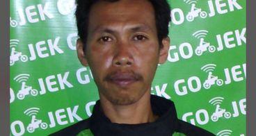 Penghargaan untuk supir Gojek, Bpk Anton Budi