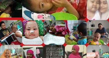 Bantu Aisya agar bisa sembuh dari leukimia