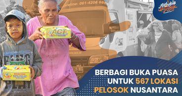 Berkeliling Nusantara Mengantar Paket Buka Puasa