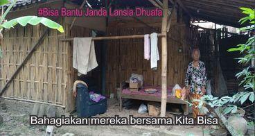 Bantu Janda-Janda Jompo Dhuafa