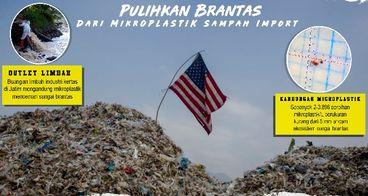 Pulihkan Brantas dari Mikroplastik Sampah Import