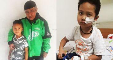 Ibrahim Lawan Meningitis demi Dua Kakak di Surga