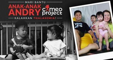 Bantu 2 Anak Andry CameoProject Lawan Thalasemia