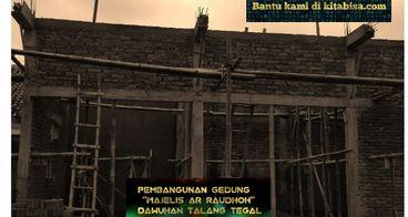 Bantu Pembangunan Majelis Ta'lim Ar-Raudhoh