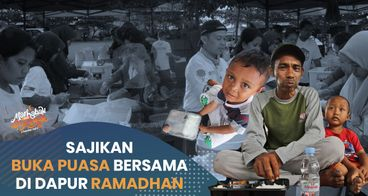 Berbagi Keberkahan Melalui Dapur Ramadhan