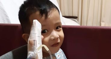 Bantu Kenneth melawan Leukemia