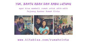 Yuk, Jadi Donatur Rumah Cinta Anak Kanker Bandung