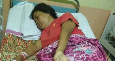 bantu ibu Nitha melawawan kanker serviks stadium 3