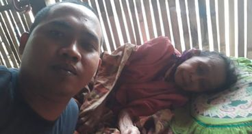 Bantu nenek saudeh sembuh dari strok dan kanker pa