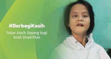 Gerakan #BerbagiKasih untuk Anak Disabilitas