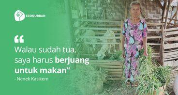 Bantuan Usaha untuk Nenek Sebatang Kara