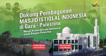 Pembangunan Masjid Istiqlal Indonesia di Palestina