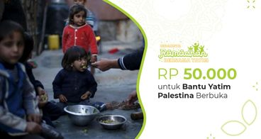 Hidangan Ifthar untuk 28.000 Yatim Palestina