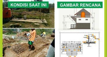Bantu Wujudkan Tempat Wudhu dan WC Masjid