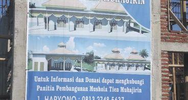 Bantu Masjid Tien Muhajirin berdiri dengan kokoh