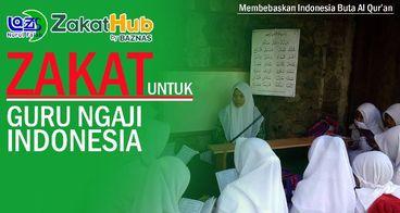 Zakat untuk Guru Ngaji Indonesia