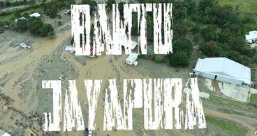 Bantu Korban Banjir Bandang Kabupaten Jayapura