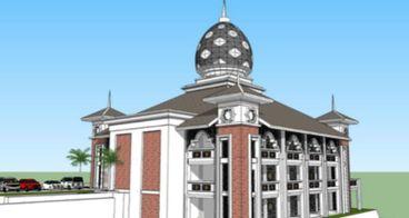 Pembangunan Masjid Santri Putri Hidayatullah Pusat