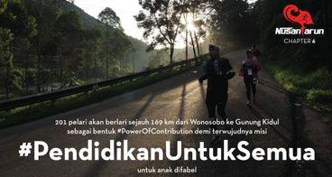 Wisnu Wahyu for NR6 #PendidikanuntukSemua