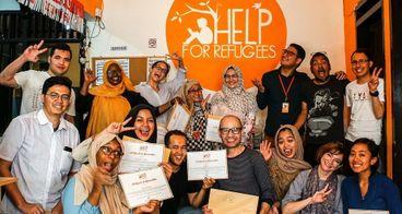 Bantu Sekolah Pengungsi Help for Refugees Jakarta