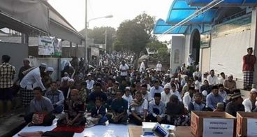 Pembebasan tanah pengembangan musholla