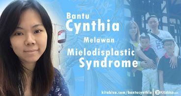 Bantu Cynthia Cangkok Sumsum Tulang Belakang