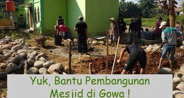 Bantu renovasi Masjid Abdurrahman Al Qorny Yuk!