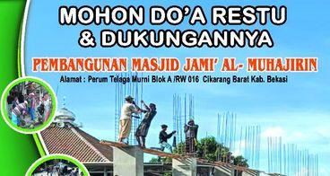 pembangunan renovasi masjid