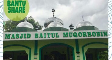 Renovasi Masjid Baitul Muqorrobin