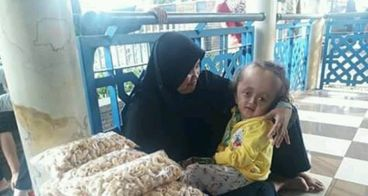 Bantu Ibu Siti Mengobati Anaknya.
