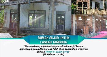 Rumah Sujud untuk Laskar Tambora