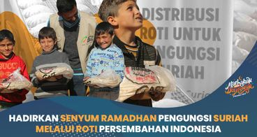 Roti Khobz untuk Hangatkan Ramadhan Suriah