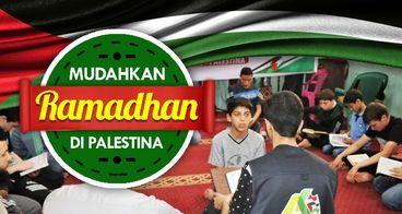 Mudahkan Ramadhan Penghafal Alquran di Palestina