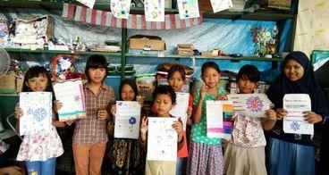 Pembangunan perpustakaan kampung 2 x WabeProject
