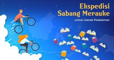 Bersepeda untuk Literasi Pedalaman