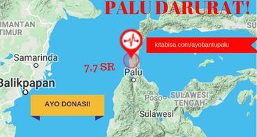 Dari Indonesia untuk Donggala & Palu